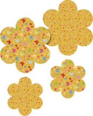HEYDA Papierset Fächerblume orange, 20-48 756 85