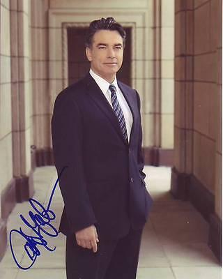 Peter Gallagher Signed Autograph 8X10 Covert Affairs Arthur Campbell Photograph