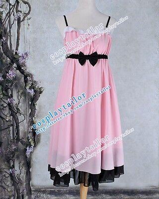 Sword Art Online Asuna Yuuki High Quality Halloween Pink Dress Cosplay Costume](Quality Costumes Online)