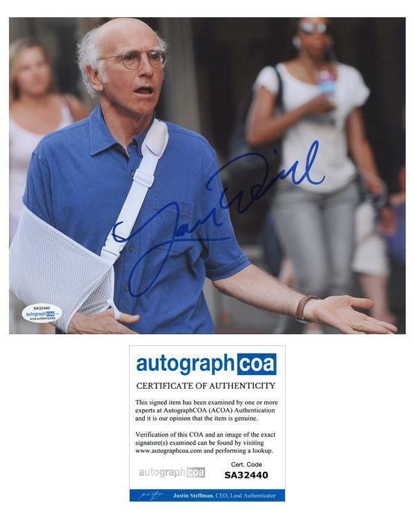 "Larry David ""Curb Your Enthusiasm"" AUTOGRAPH Signed 8x10 Photo ACOA"
