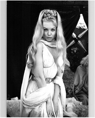 Mylene Demongeot Stunning French Blonde Bombshell Original Glamour Pin Up Photo