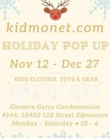 KID Monet Holiday pop up
