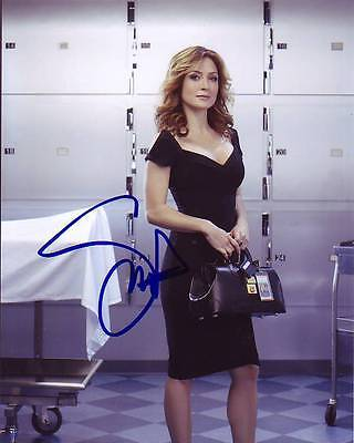 Sasha Alexander Signed Rizzoli   Isles Photo W  Hologram Coa