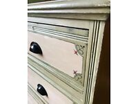 Large Antique pine chest of drawers