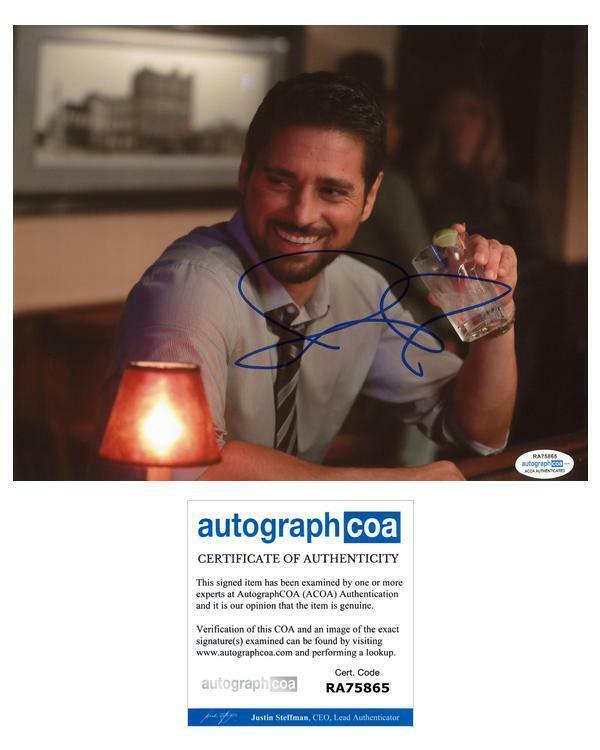 "J.R. Ramirez ""Manifest"" AUTOGRAPH Signed 8x10 Photo B ACOA"