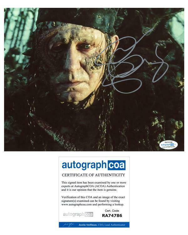 "Stellan Skarsgard ""Pirates of the Caribbean"" AUTOGRAPH Signed 8x10 Photo ACOA"