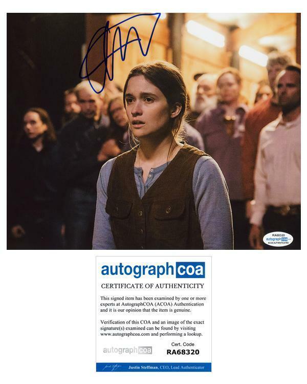 "Alice Englert ""Them That Follow"" AUTOGRAPH Signed 8x10 Photo ACOA"