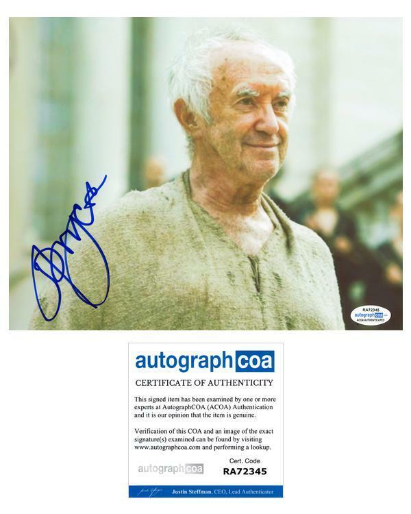 """Jonathan Pryce """"Game of Thrones"""" AUTOGRAPH Signed 8x10 Photo D ACOA"""