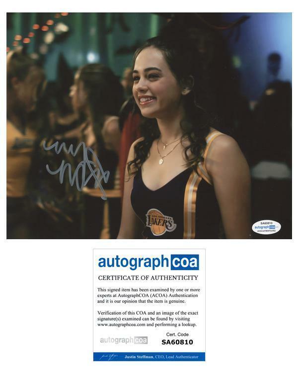 "Mary Mouser ""Cobra Kai"" AUTOGRAPH Signed 'Samantha LaRusso' 8x10 Photo F ACOA"