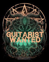 Death metal guitarist wanted for new project