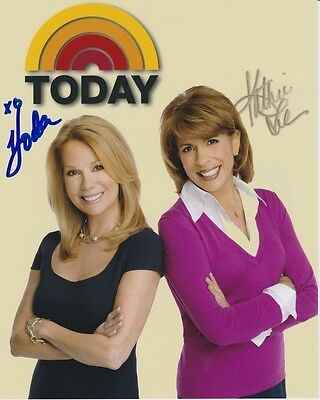 Hoda Kotb   Kathie Lee Gifford Signed Autographed 8X10 The Today Show Photograph
