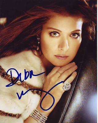 Debra Messing Signed Photo W  Hologram Coa Will   Grace
