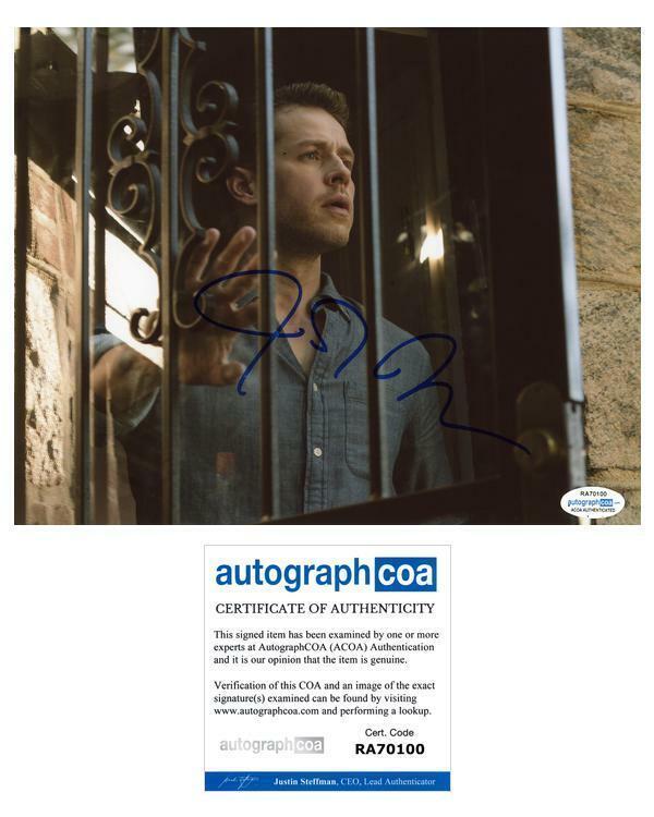 "Josh Dallas ""Manifest"" AUTOGRAPH Signed 8x10 Photo E ACOA"