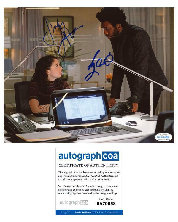 """Sarah Steele & Nyambi Nyambi """"The Good Fight"""" AUTOGRAPHS Signed 8x10 Photo ACOA"""