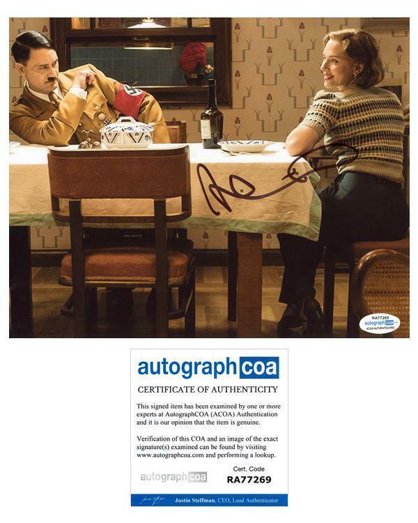"""Taika Waititi """"Jojo Rabbit"""" AUTOGRAPH Signed 8x10 Photo B ACOA"""