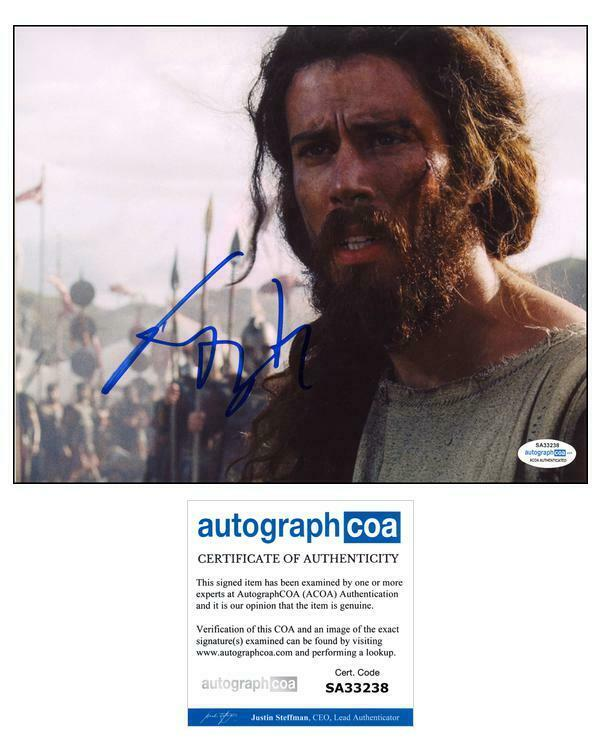 """Toby Kebbell """"Wrath of the Titans"""" AUTOGRAPH Signed 'Agenor' 8x10 Photo ACOA"""
