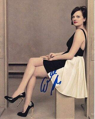 Elisabeth Moss Signed Autographed Photo