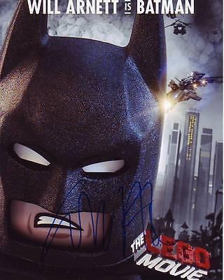 Will Arnett Signed Batman The Lego Movie Photo W  Hologram Coa