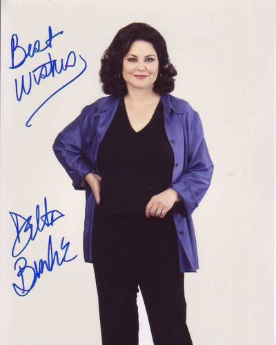 DELTA BURKE signed autographed photo