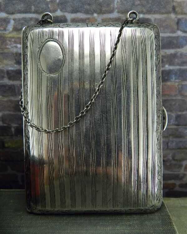 Antique/ Vintage Hallmark FP Sterling Silver Calling Card Case