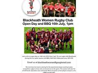 Women's Rugby Open Day 16th July