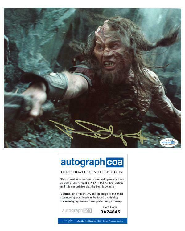 "Jason Flemyng ""Clash of the Titans"" AUTOGRAPH Signed 8x10 Photo ACOA"