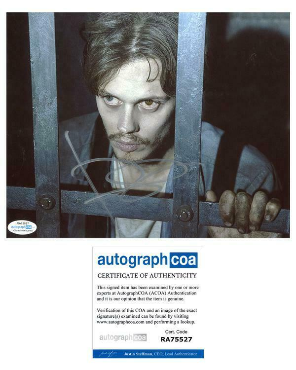 "Bill Skarsgard ""Castle Rock"" AUTOGRAPH Signed 8x10 Photo ACOA"