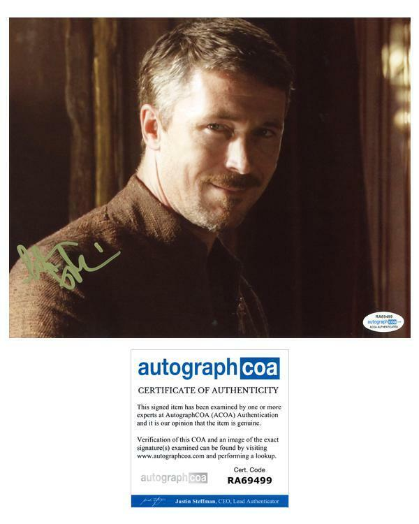 "Aidan Gillen ""Game of Thrones"" AUTOGRAPH Signed 8x10 Photo ACOA"