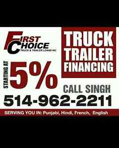 FINANCING ALL TRUCKS, TRAILERS AND HEAVY EQUIPMENT!!!! West Island Greater Montréal image 2