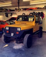 1991 Jeep Yj Must Go Moving