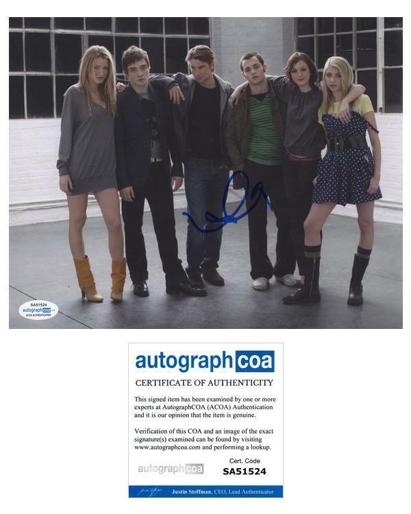 "Leighton Meester ""Gossip Girl"" AUTOGRAPH Signed 'Blair Waldorf' 8x10 Photo ACOA"