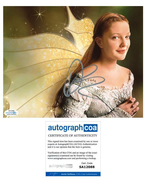 "Drew Barrymore ""Ever After"" AUTOGRAPH Signed 8x10 Photo ACOA"