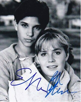 Ralph Macchio   Elisabeth Shue Signed Autographed The Karate Kid Photo