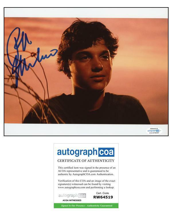 """Ralph Macchio """"The Outsiders"""" AUTOGRAPH Signed 'Johnny' 8x10 Photo D"""