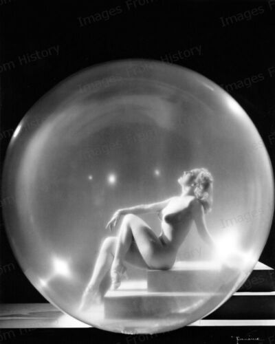 8x10 Print Sally Rand Burlesque Star Revealing Portrait #SRBS