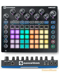 Novation Circuit – synths (2), groovebox, sample player
