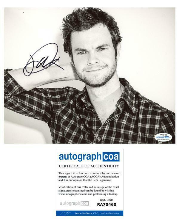 "Jack Quaid ""The Boys"" AUTOGRAPH Signed 8x10 Photo ACOA"