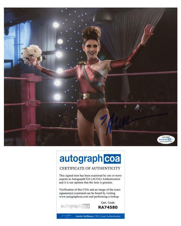 "Alison Brie ""Glow"" AUTOGRAPH Signed 8x10 Photo ACOA"