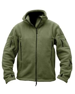 MILITARY-ARMY-RECON-TACTICAL-OLIVE-GREEN-FLEECE-SAS-POLICE-CADETS-SBS