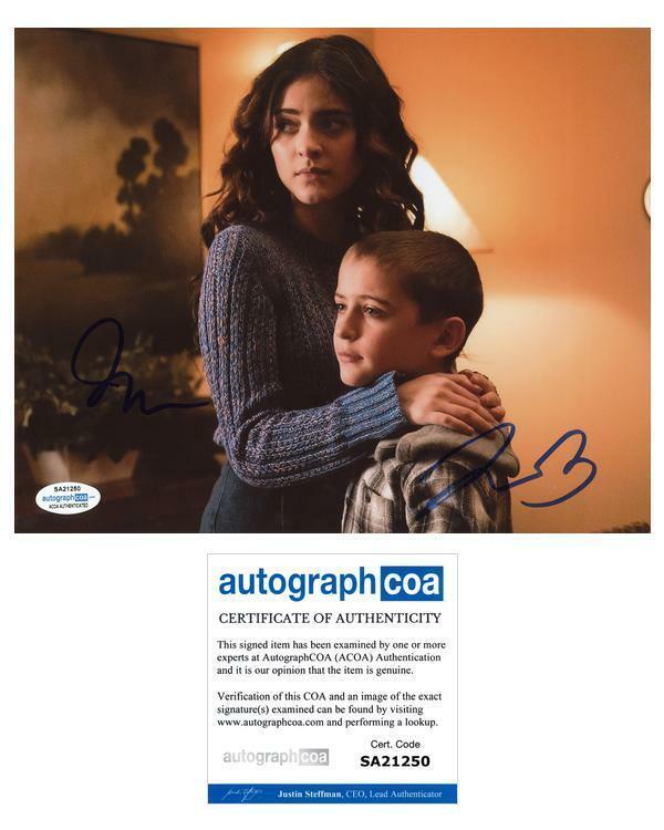 """Luna Blaise & Jack Messina """"Manifest"""" AUTOGRAPHS Signed 8x10 Photo ACOA"""