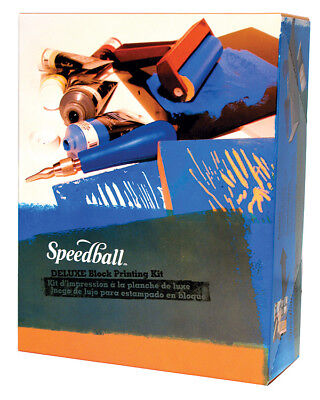 Speedball Deluxe Block Printing Kit Deluxe Screen Printing Kit