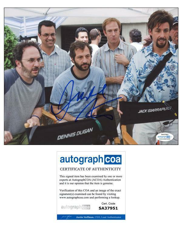 """Judd Apatow """"You Don't Mess with the Zohan"""" AUTOGRAPH Signed 8x10 Photo ACOA"""