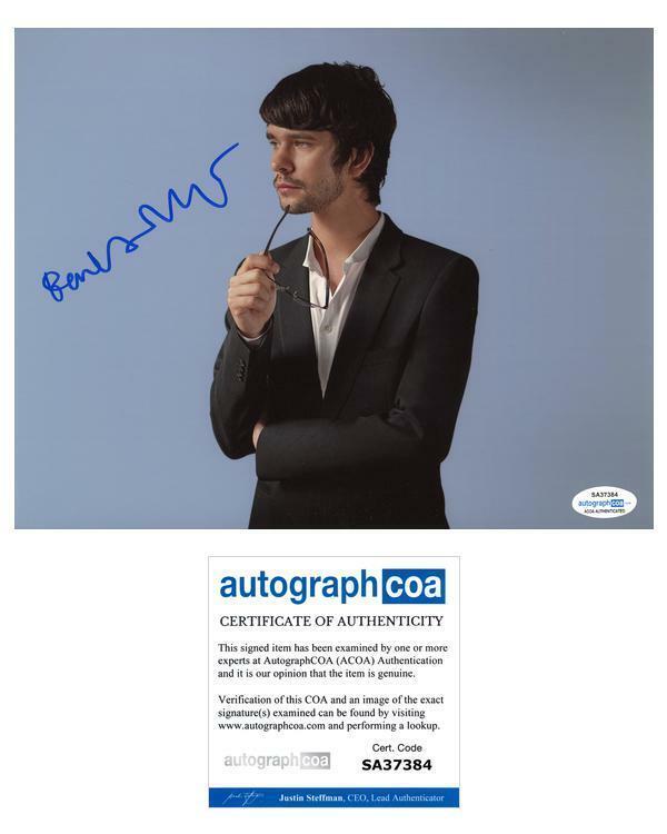 "Ben Whishaw ""Fargo"" AUTOGRAPH Signed 8x10 Photo ACOA"
