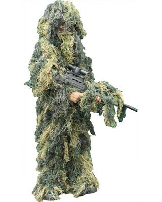 Kombat UK Kid's Ghillie Suit Camouflage Army Soldier Hunting/Shooting Country