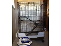 Rat cage and small pet carrier