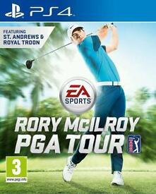 Rory mcilroy pga tour. Ps4 game. Excellent condition.