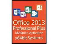 MICROSOFT OFFICE 2013 Pro Plus x64Bit - WORD, POWERPOINT, EXCEL,OUTLOOK, ACCESS, PUBLISHER