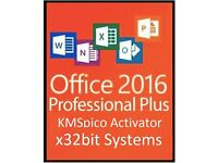 MICROSOFT OFFICE 2016 x32bit Pro Plus - WORD, POWERPOINT, EXCEL, OUTLOOK, ACCESS, PUBLISHER