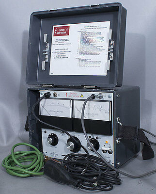 Biddle-megger Avo Cat 220005 5 Kv Dc 5 Ma Dielectric Strength Test Settester