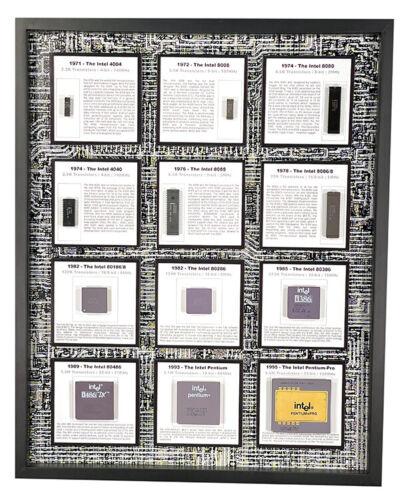 Intel the First Generation - 4004 to Pentium Pro (4040, 8008, 286, 386 …